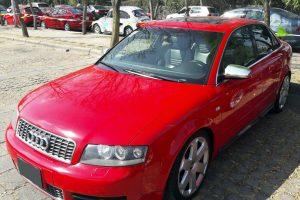 Renta Audi S4 V8 Rojo 2004 en la Ciudad de México
