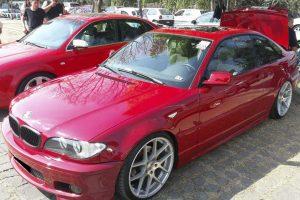 Renta Bmw 325 Rojo 2005 en la Cuidad de México