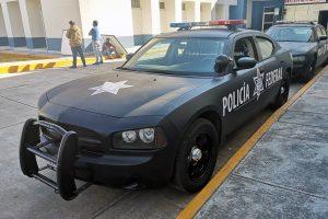 Renta Charger Negro Mate Policia Federal en la Ciudad de México