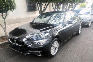 BMW 320I Negro se renta en CDMX