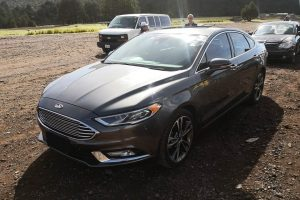 Ford Fusion Gris Oxford en renta CDMX