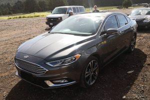 Ford Fussion Gris Oxford renta en cdmx