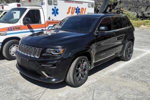 Jeep Grand Cherokee Negra Blindada 2017 renta en cdmx