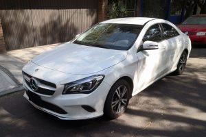 Mercedes Benz Cla 200 Blanco en renta CDMX
