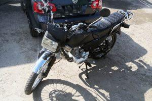 Motocicleta Tough Negra en renta CDMX