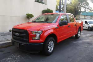 Pick Up Ford f150 Roja renta en cdmx