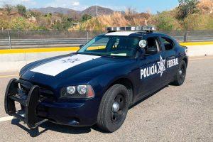 charger patrulla federal azul renta CDMX