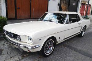 Ford Mustang 1965 convertible en renta en CDMX